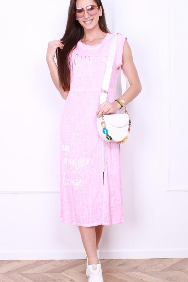 Sukienka z rozporkiem 9