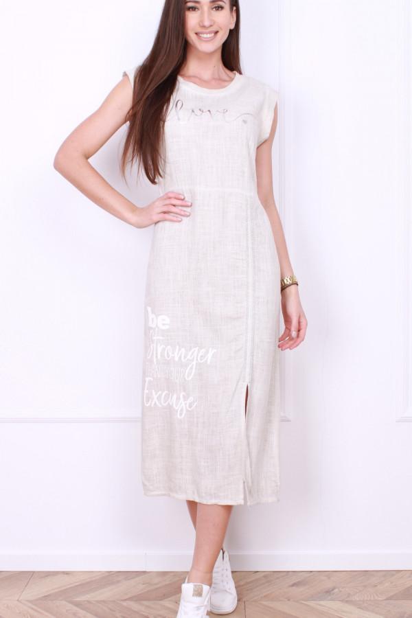 Sukienka z rozporkiem 10