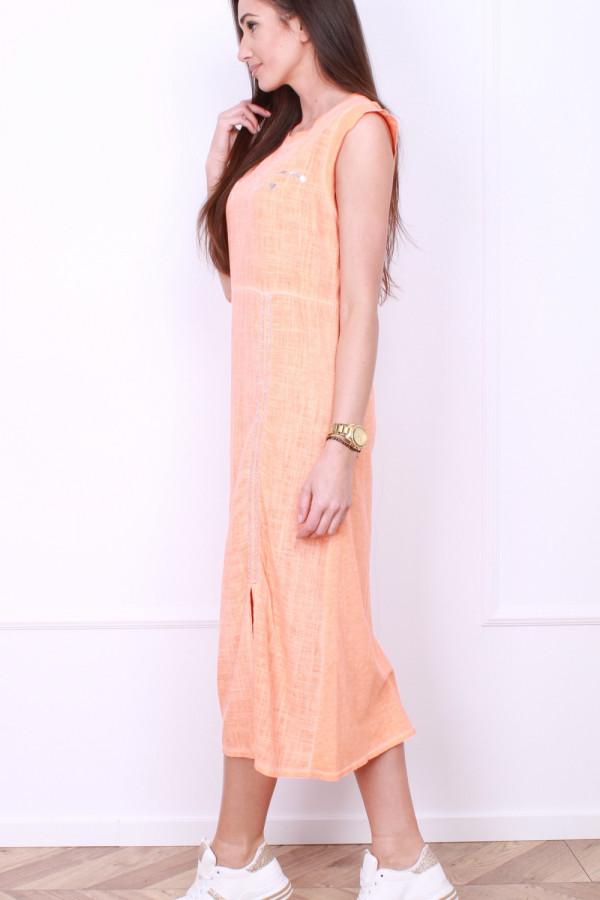 Sukienka z rozporkiem 1