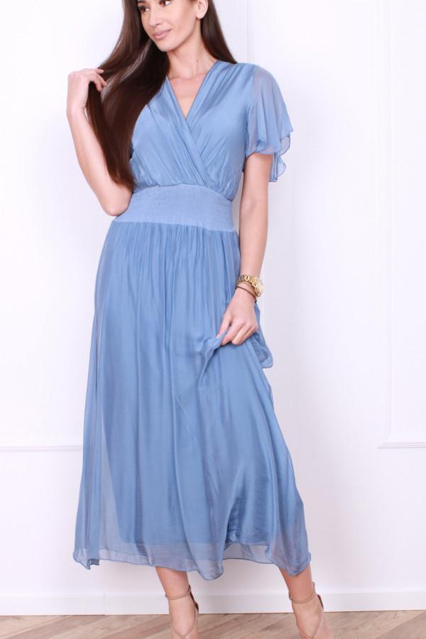 Sukienka z jedwabiem 3