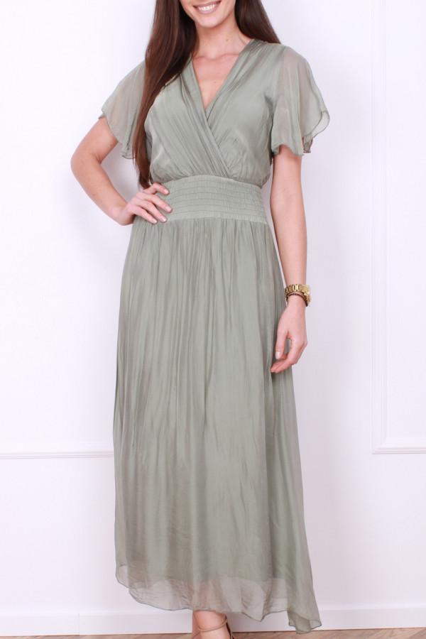 Sukienka z jedwabiem 4
