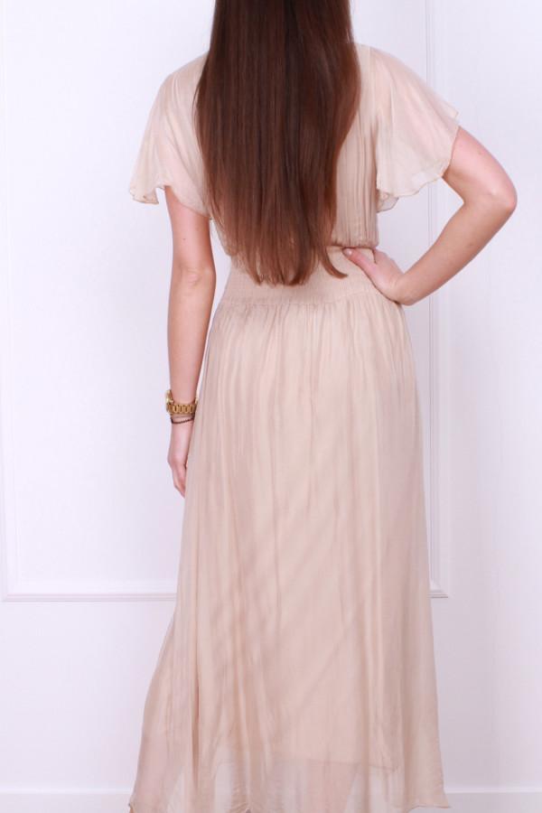 Sukienka z jedwabiem 2