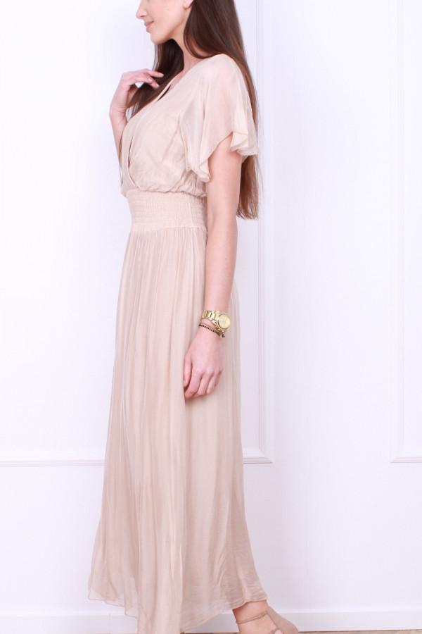 Sukienka z jedwabiem 1