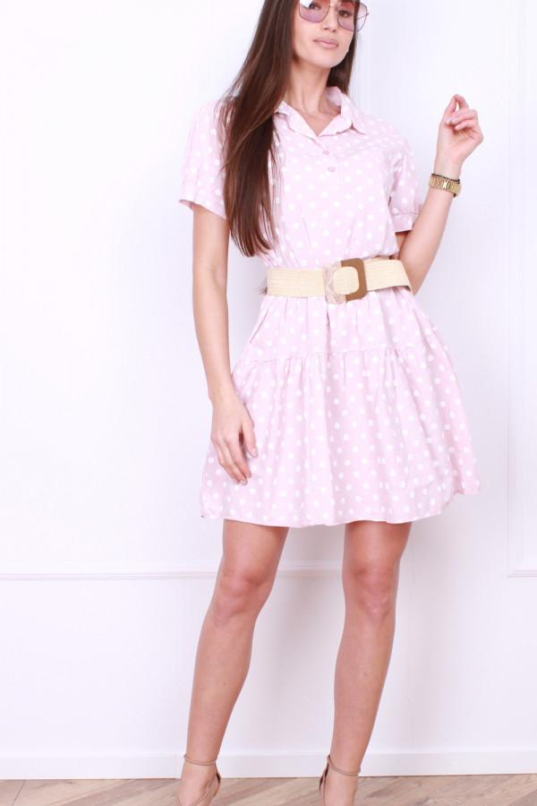 Sukienka w grochy 3