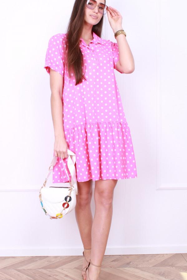 Sukienka w grochy 4