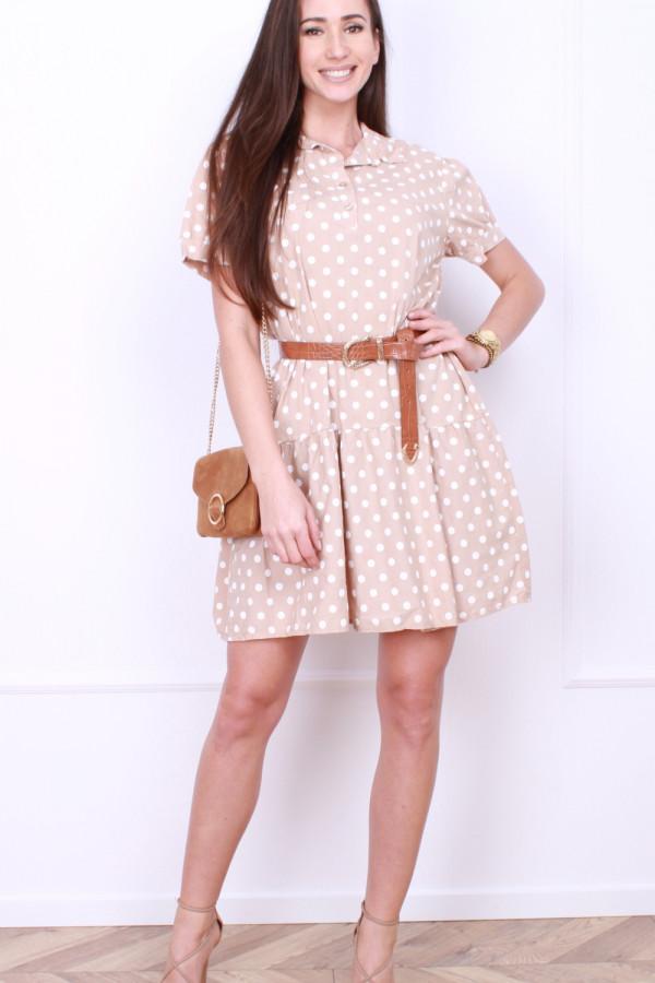 Sukienka w grochy 5