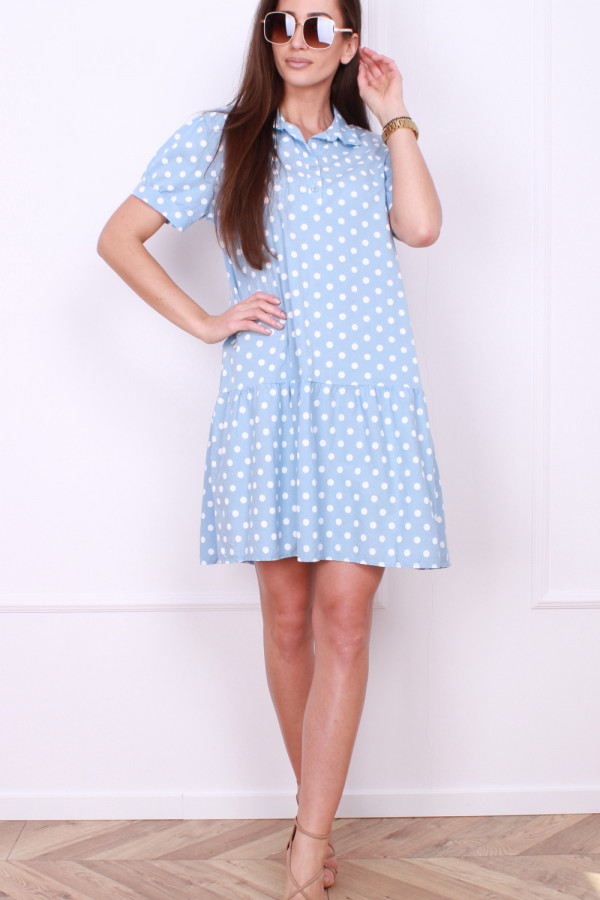 Sukienka w grochy 6