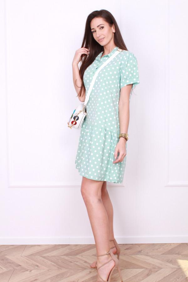 Sukienka w grochy 1
