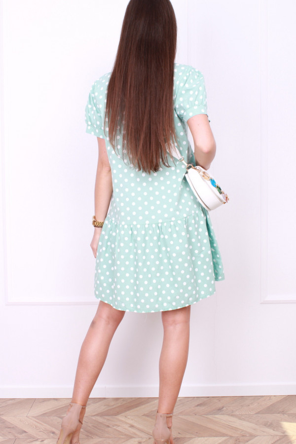 Sukienka w grochy 2