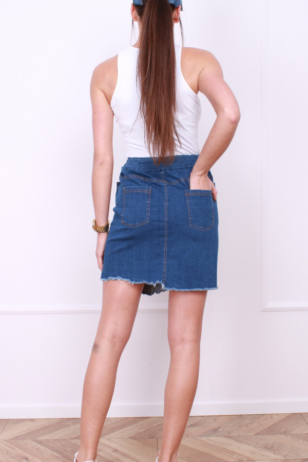 Jeansowa spódniczka 2