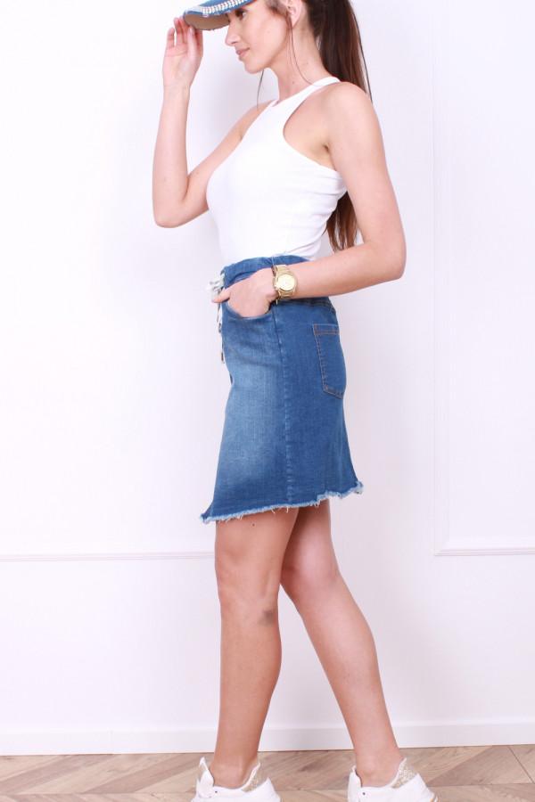 Jeansowa spódniczka 1