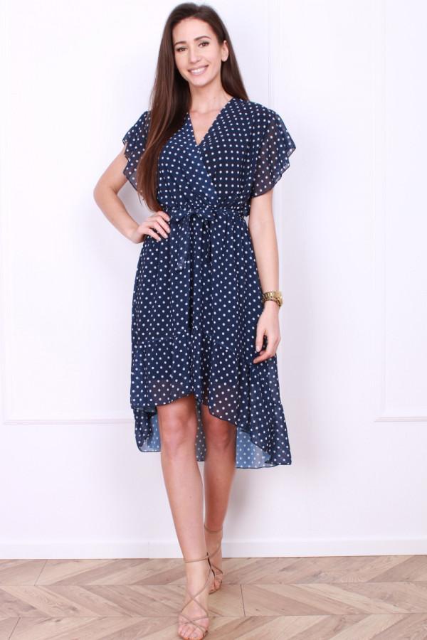 Sukienka w małe grochy 3
