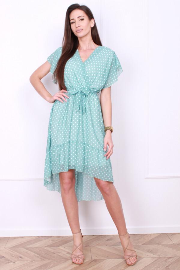 Sukienka w małe grochy 5