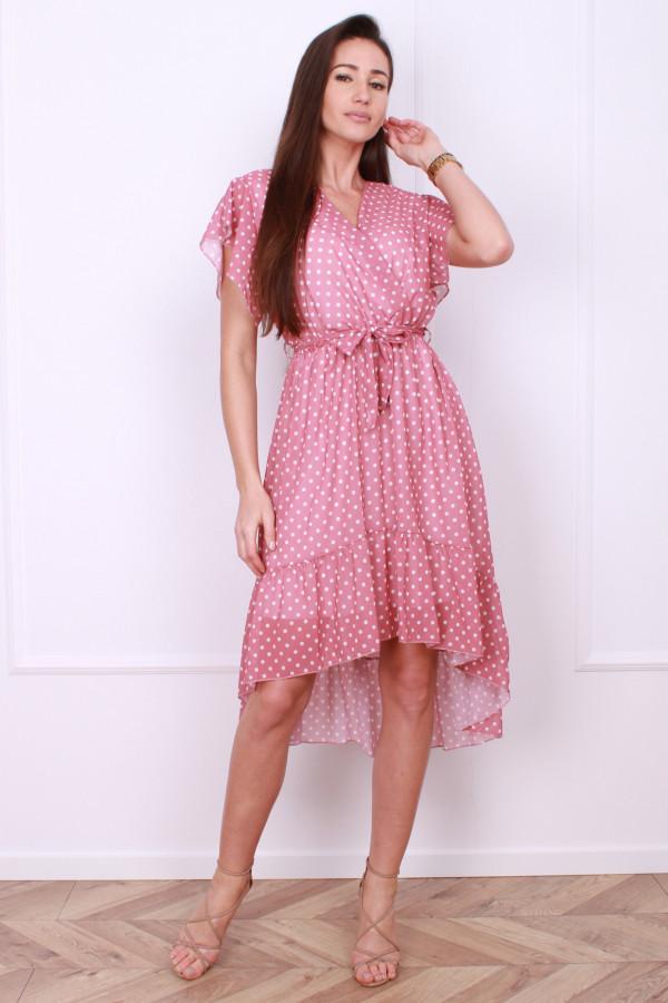 Sukienka w małe grochy 6