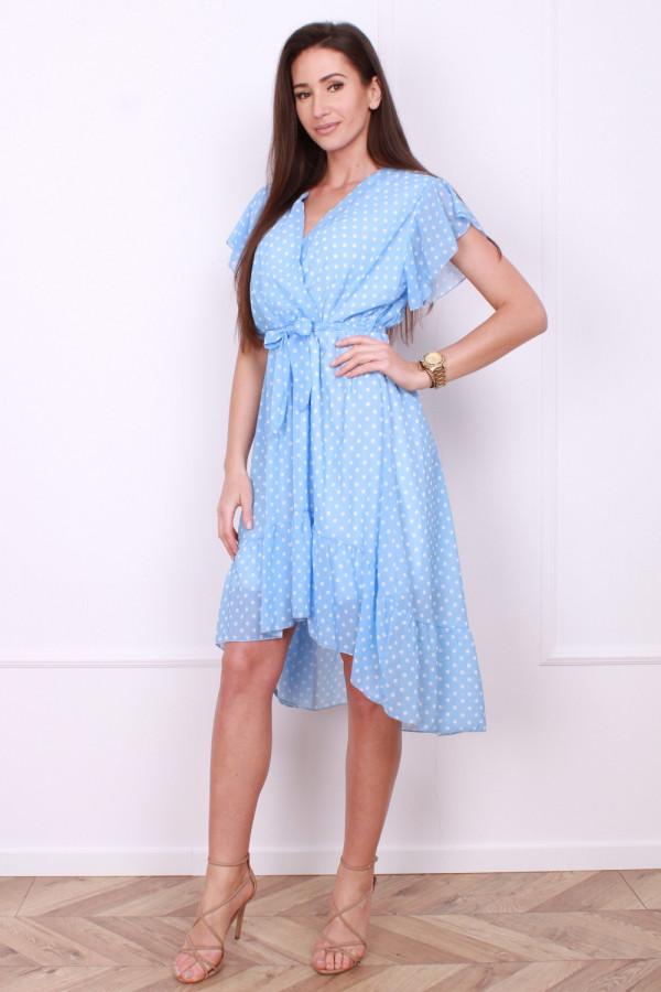 Sukienka w małe grochy 7