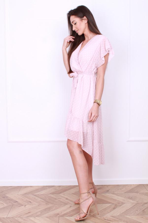 Sukienka w małe grochy 1