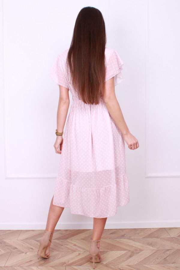 Sukienka w małe grochy 2