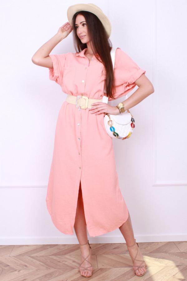 Sukienka z guzikami 6