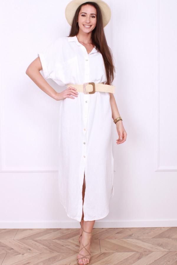 Sukienka z guzikami 9