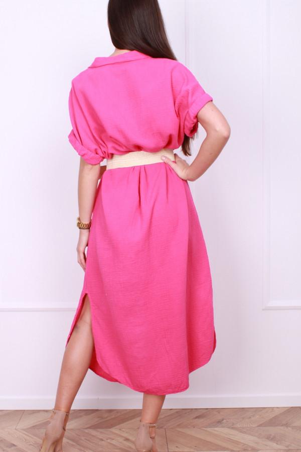 Sukienka z guzikami 2