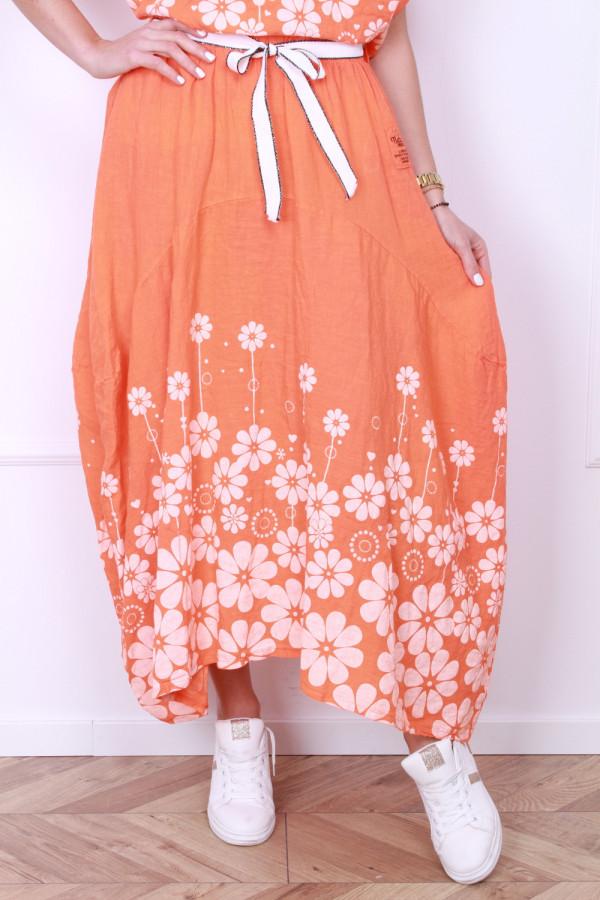 Spódnica z kwiatami 9