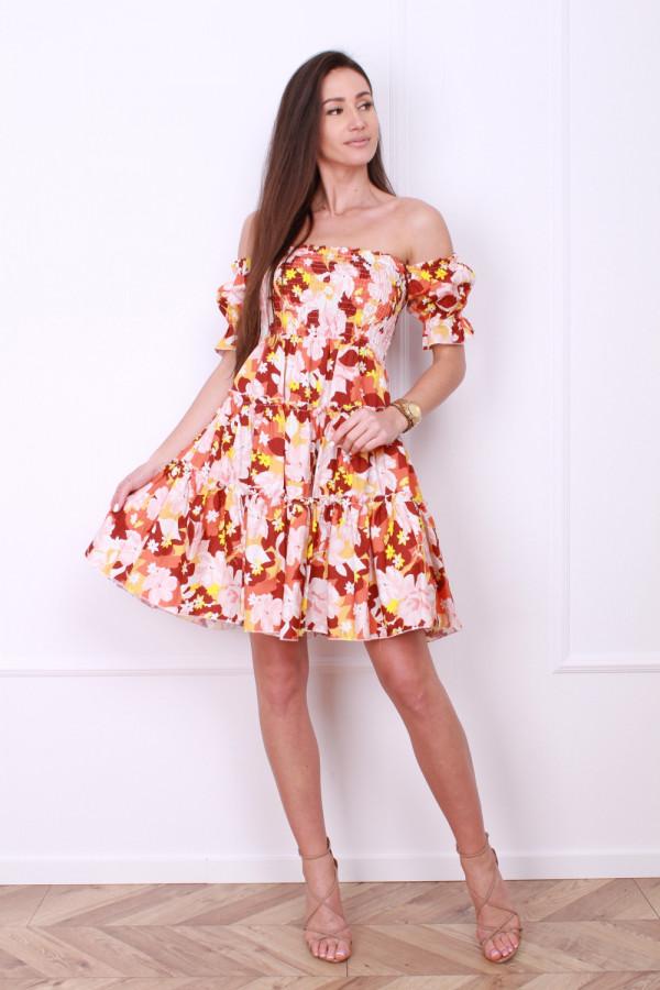 Sukienka z bufkami 3