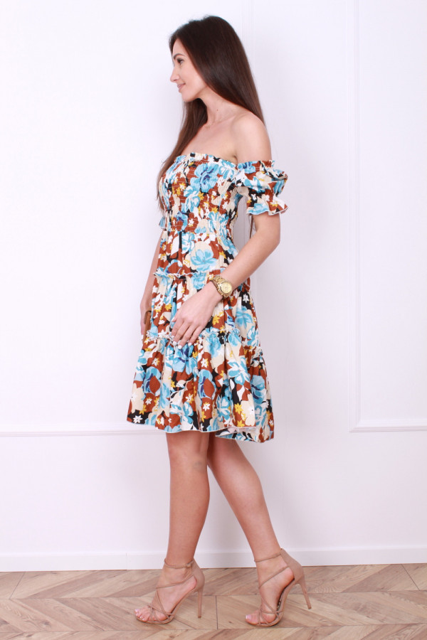 Sukienka z bufkami 1