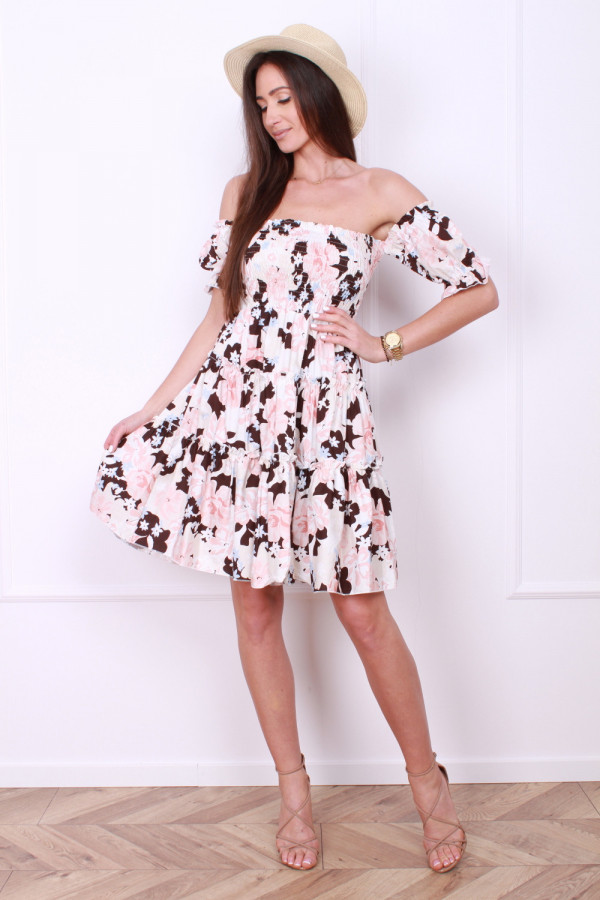 Sukienka z bufkami 4