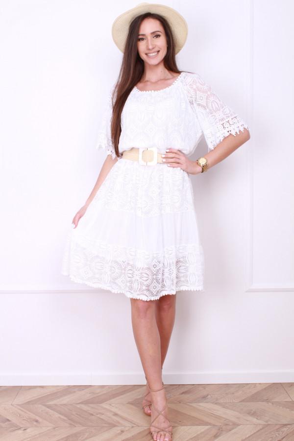 Sukienka z koronką 3