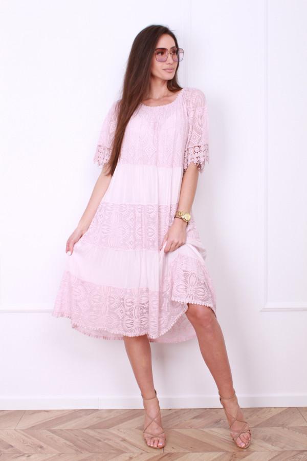 Sukienka z koronką 4