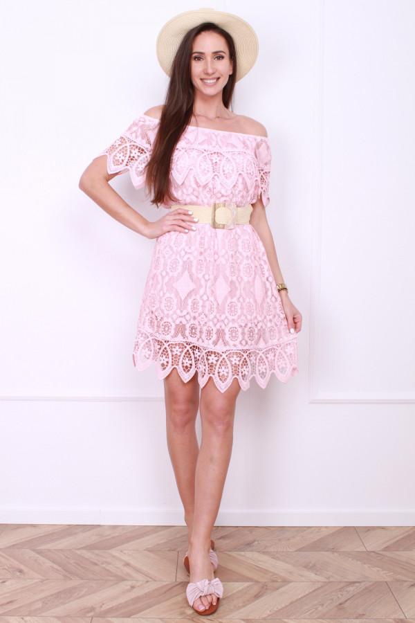 Sukienka z koronek 5