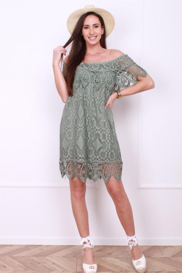 Sukienka z koronek 8