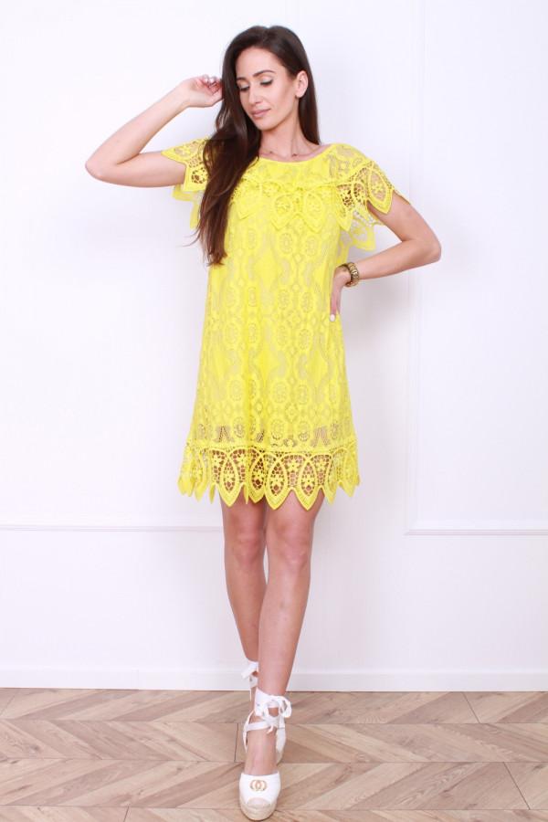 Sukienka z koronek 11