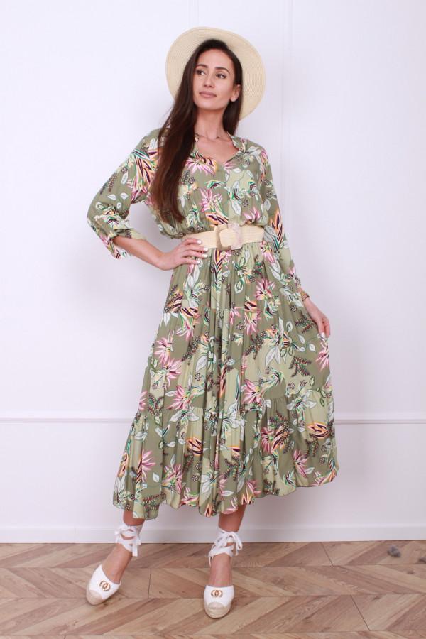 Sukienka Leaf 9