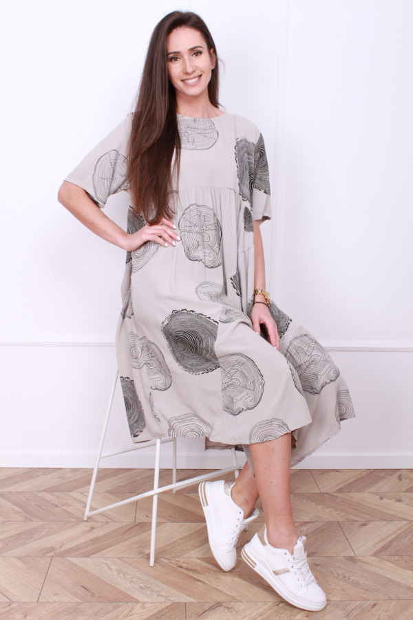 Luźna sukienka 3