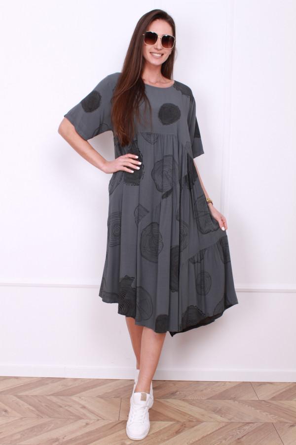 Luźna sukienka 4
