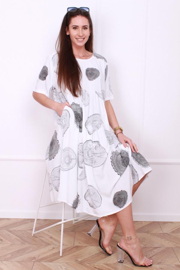 Luźna sukienka 6