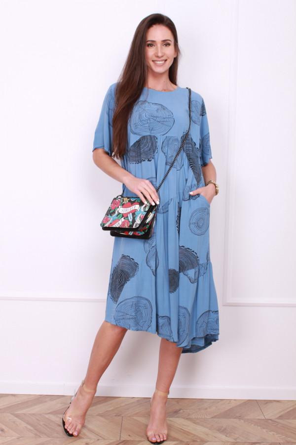 Luźna sukienka 5