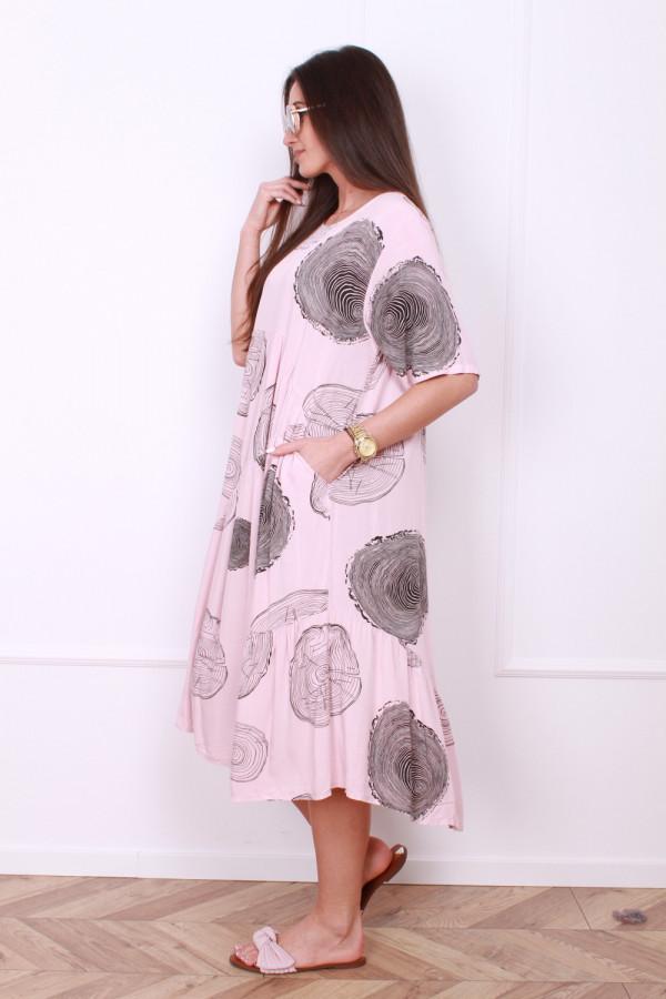 Luźna sukienka 1