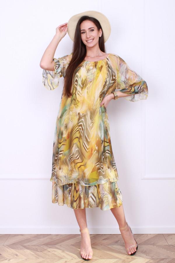 Sukienka w pręgi 3