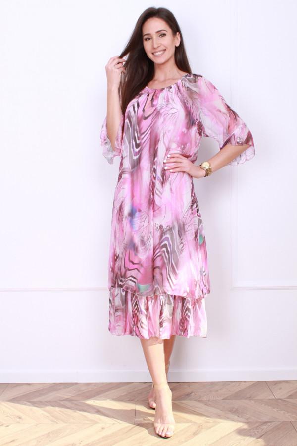 Sukienka w pręgi 4