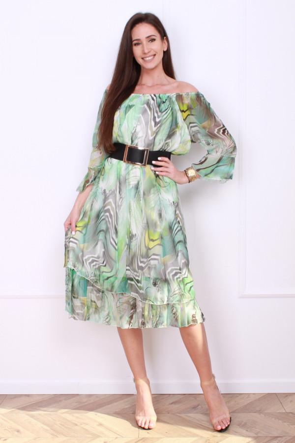 Sukienka w pręgi 5