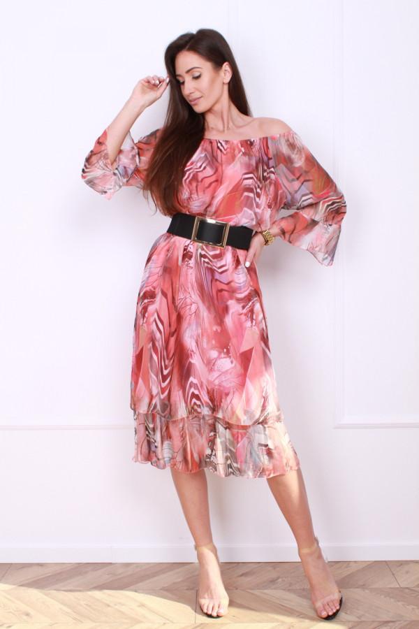 Sukienka w pręgi 8