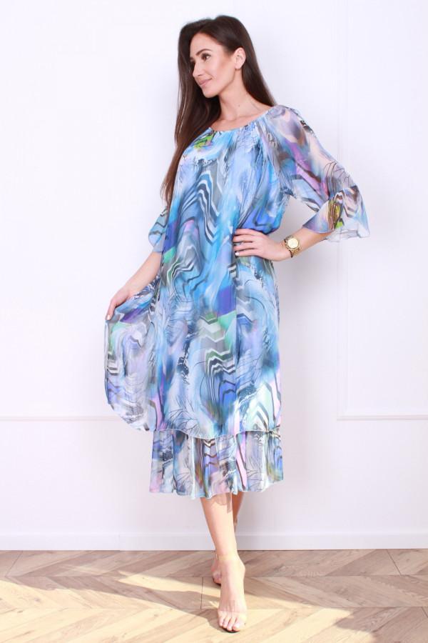 Sukienka w pręgi 7