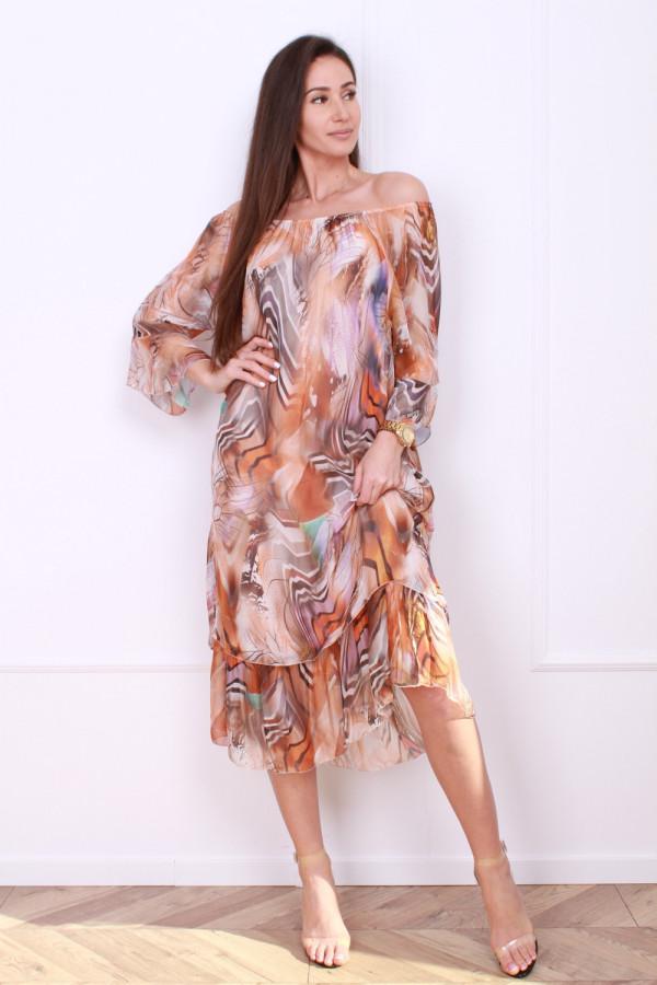 Sukienka w pręgi 6