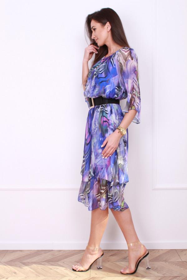 Sukienka w pręgi 1