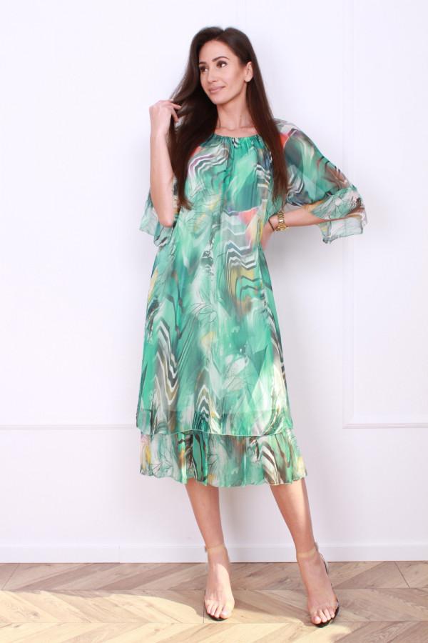 Sukienka w pręgi 9