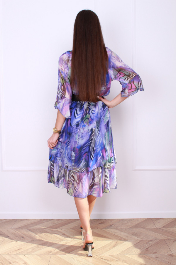 Sukienka w pręgi 2