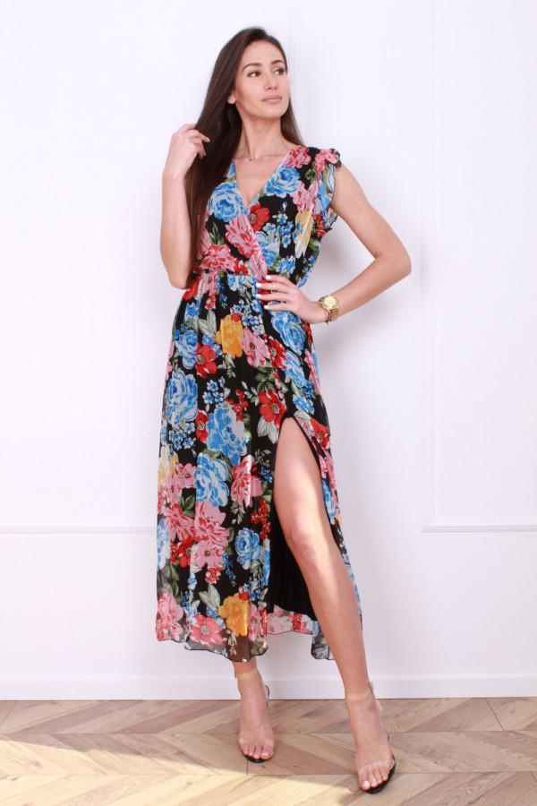 Sukienka w kwiaty 3