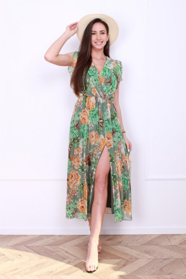 Sukienka w kwiaty 7